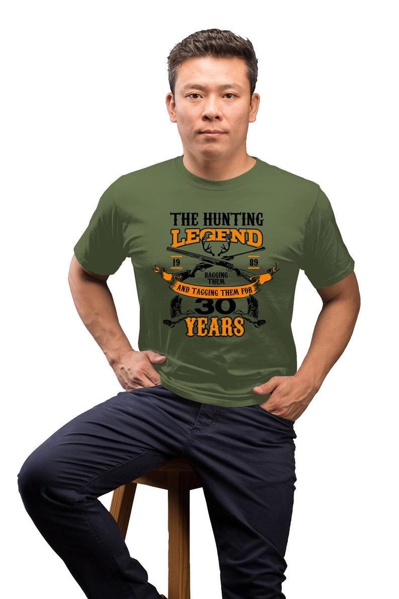 Hunting Gift Ideas For Men 30th Birthday Shirt Hunter T