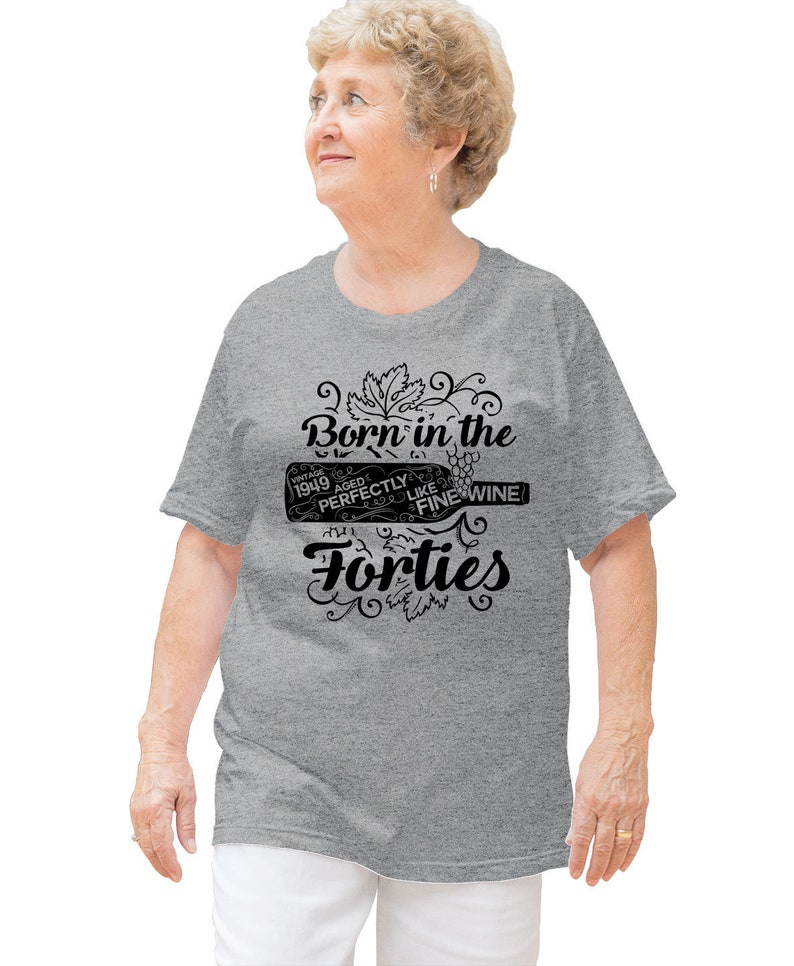 70th Birthday Gifts Ideas Personalized T Shirt Bday Present Wine TShirt B Day Vintage 1949 Aged Perfectly Like Fine Ladies Tee DAT 3226