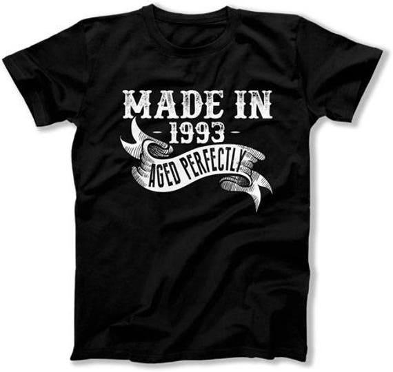 25th Birthday Gift Ideas For Men T Shirt