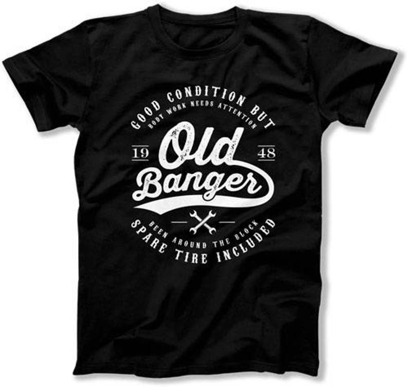 Funny Birthday T Shirt 70th Gifts For Men Present 70 Years Old Banger 1948 Mens Tee DAT 1290