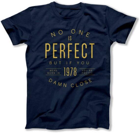 40e Verjaardag Cadeau Ideeen Voor Mannen Bday T Shirt B Dag Etsy