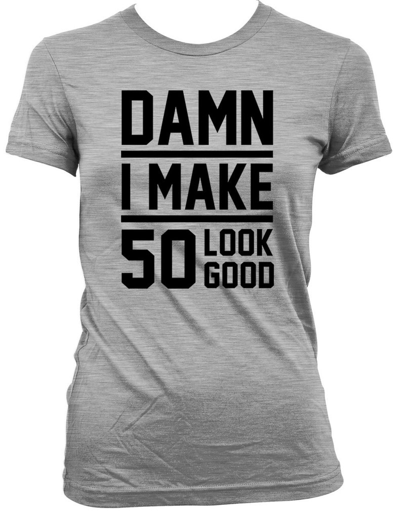 Funny Birthday Gift Ideas 50th Shirt Present