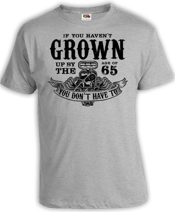 Funny Birthday Gift Ideas For Him 65th T Shirt