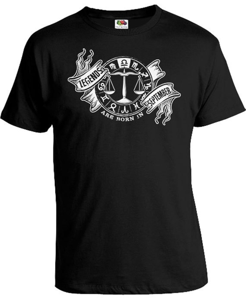 Libra T Shirt Zodiac Birthday Gift Ideas Astrology TShirt Horoscope Shir