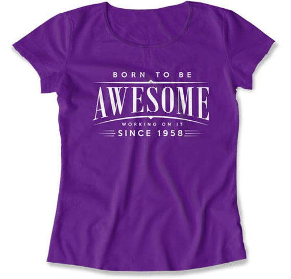 60th Birthday T Shirt Gift Ideas For Women Gifts