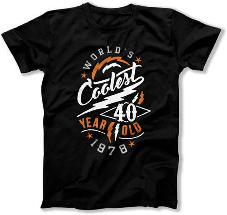 40th Birthday Shirt Gift Ideas Presents For Him