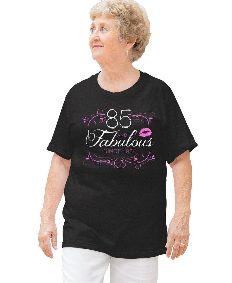 Personalized Birthday T Shirt 85th Gift Idea For