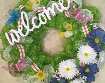Daisy Wreath - Ready to Ship