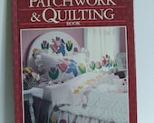 Better Homes and Gardens New Patchwork and Quilting Book vintage hardcover sewing pattern book blankets quilts throws needlework home decor