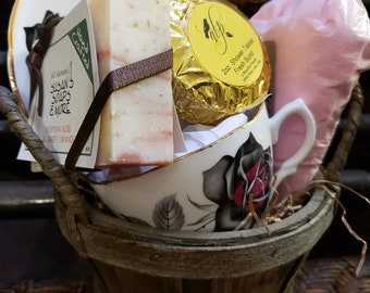 LOVE Basket For All Things Pampering and Hygge