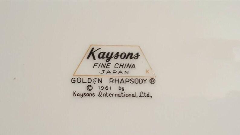 Kaysons fine china Japan 1961
