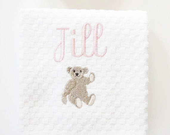 JILL THE BEAR Bath Towels