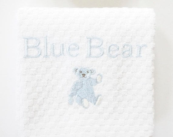 BLUE BEAR Bath Towels