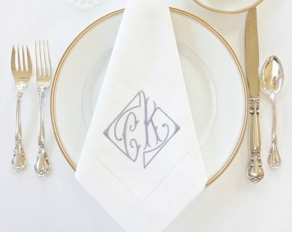 PARISIAN Monogram Embroidered Linens