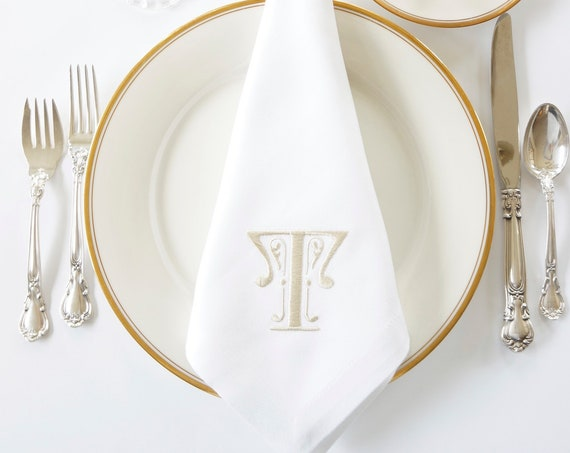 ERIN Monogram Embroidered Linens