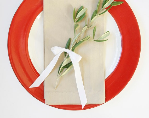 PRE-HOLIDAY SALE Monogrammed Napkins as Featured, 9 Dollars Each, 30% Discount Set of 5, Free Shipping, Christmas, Wedding, Hostess Gift