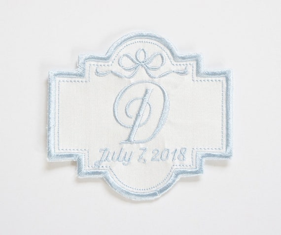 Custom Embroidered Wedding Dress Patch, Future Wedding, Bridal dress patch