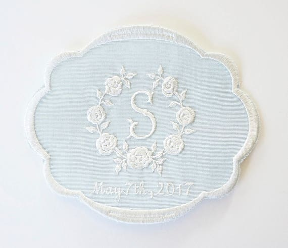Custom Embroidered Wedding Dress Patch