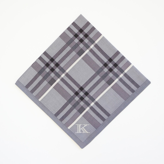 PRE-HOLIDAY SALE Mens Designer Label Monogrammed Pocket Squares or Handkerchiefs as Featured, 50% Discount & Free Shipping, Gifts, Christmas