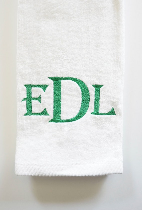 Monogrammed Golf Towels, Sport Towels, Golf Accessories, Embroidered Golf Towels