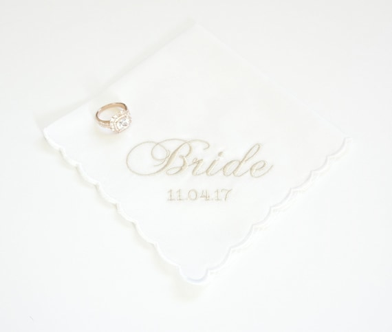 CUSTOM LADIES Monogram design and font Embroidered Monogrammed Handkerchief, Personalized Custom Handkerchief