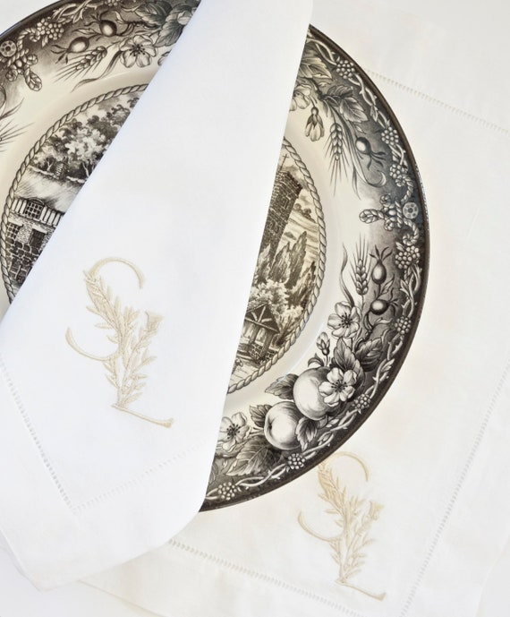 WEDDING LOGO MONOGRAM, Duogram for Wedding Napkins, Table Linens and Towels