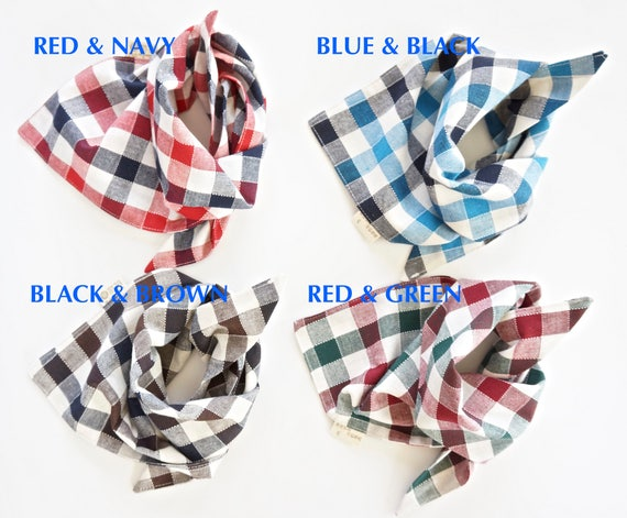 Personalized Dog and Cat Scarves, Monogrammed Pet Bandanas