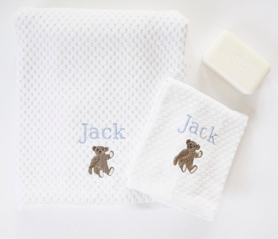 JACK THE BEAR Bath Towels