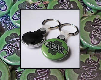 25 Custom 1-inch Keyrings by Factory Kid Buttons