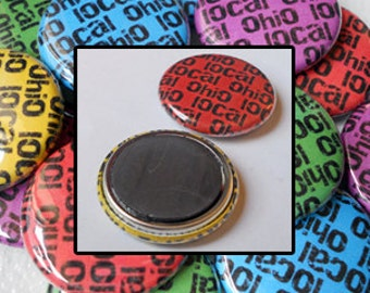 25 Custom 1-inch Magnets by Factory Kid Buttons