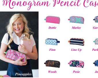 Personalized Pencil Case, Monogram Pencil Case, Personalized Pencil Pouch, Monogram Pencil Pouch, Pencil Bag, Camo Pencil Case