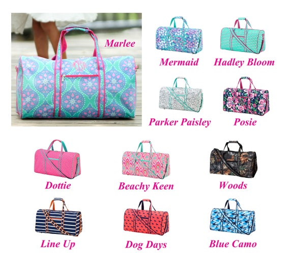 c5444c46d3bc Personalized Duffel Bag for Girl Personalized Duffel Bag