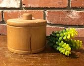 Wooden Butter Press