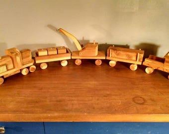 Vintage Wood Train