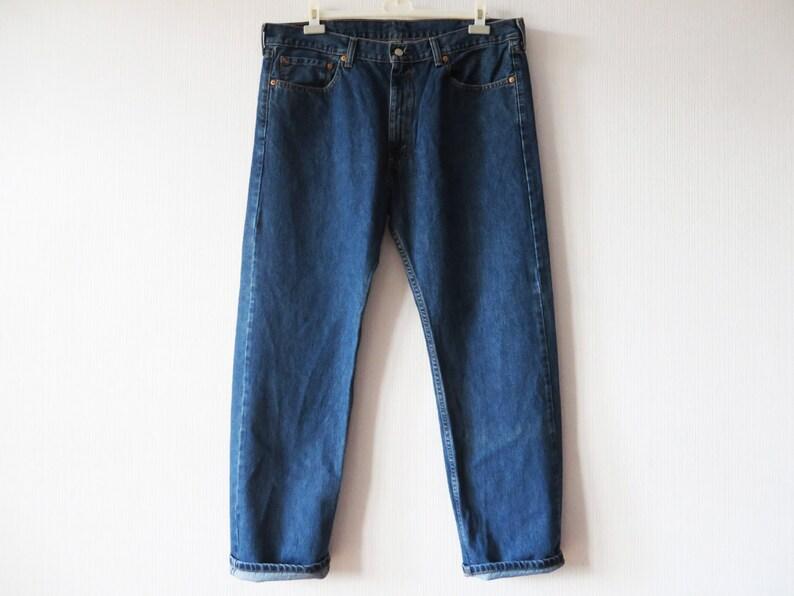 392cbbdb327 Levi's 505 Jeans Men's Vintage Jeans Dark Blue Jeans | Etsy