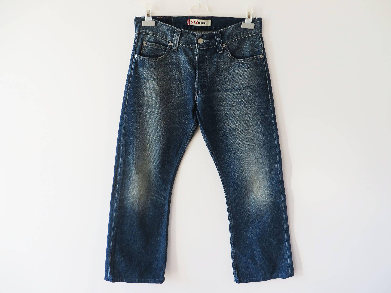 5e2b31f3 Vintage Levis 512 Jeans Size 30 Indigo Blue Denim W 32 | Etsy