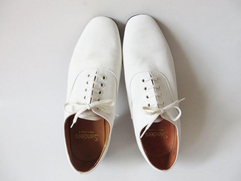 78bc6dde BLANCO SANDERS lona Derby zapatos playa verano boda novio | Etsy