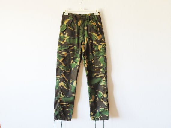 f65ac872aee Camo Pants Army Military Style Pants Adjustable Slacks Redneck