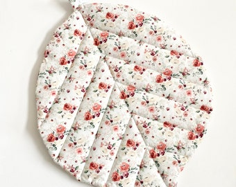 Liberty quilted sheet, bloom collection.