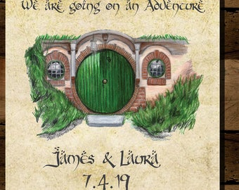 Adventure Lord of the Rings Save the Date *Digital