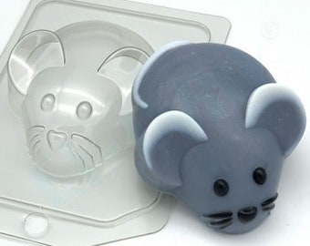 silicone soap mold animal pet love romantic animals nature eyes cute kawaii rat mouse lovely molds ice cube 3D mouse with heart mold