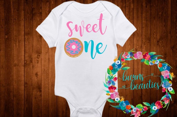 0c66e2734c3c7 Items similar to Donut One Shirt - Family shirts - Donut theme - birthday  outfit - sweet one Birthday - Set of Shirts for Kids, Babies, and Adults -  Custom ...