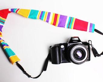Camera strap cover