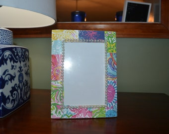 Lilly Pulitzer Inspired Frame