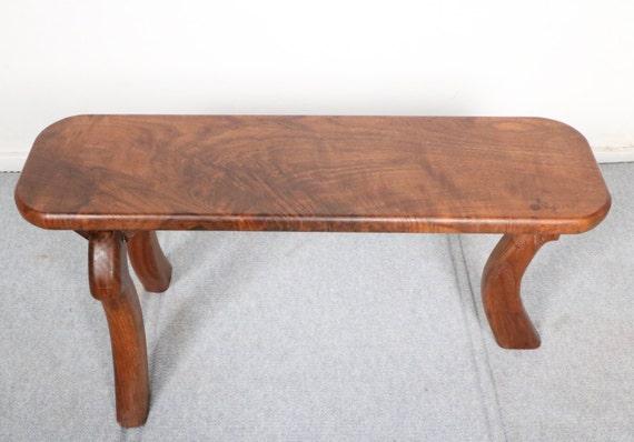 Stupendous Modern Walnut Wooden Bench Ibusinesslaw Wood Chair Design Ideas Ibusinesslaworg