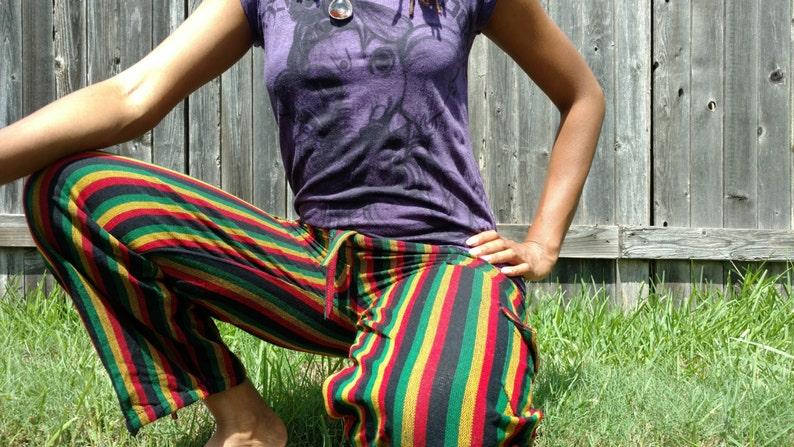 Rasta hippie pants image 0