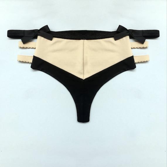 5 Pack No Tax Felina Women/'s Ladies/' Lace Thong Panties   Size S//M M//L