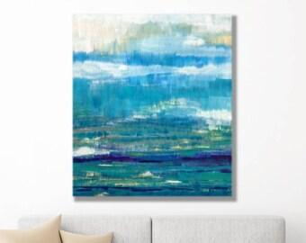 Modern Coastal Art, Abstract Coastal Art, Coastal Seascape Art, Abstract Coastal Painting, Coastal Abstract Art, Modern Abstract Seascape