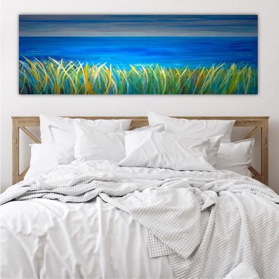 Master Bedroom Wall Decor Over The Bed Decor Ocean Wall Art Etsy