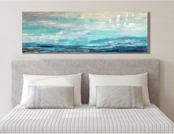 Master Bedroom Wall Decor Over Bed Wall Decor Above Bed Wall Decor Above Couch Farmhouse Wall Decor Canvas Wall Art Pink And Blue Wall
